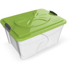 BAMA PET Контейнер для хранения корма SIM BOX 18л, прозрачный