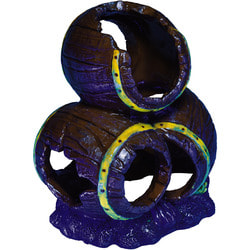 GloFish Бочки-декорация с GLO-эффектом