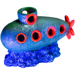 GloFish Подводная лодка - декорация с GLO-эффектом