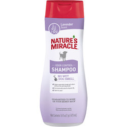 Nature's miracle Шампунь Lavender Odor Control против запаха для собак с ароматом лаванды