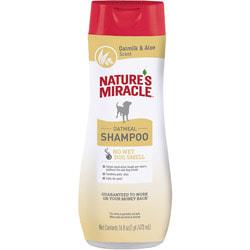 Nature's miracle Шампунь Oatmeal Odor Control с овсяным молочком с контролем запаха, для собак