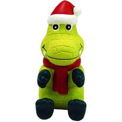 Kong Holiday игрушка для собак Вигги Санта Аллигатор