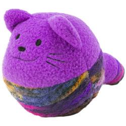Kong Игрушка для кошек Yarnimals от-клубок, с мятой, цвета в ассортименте