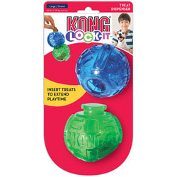 Kong Игрушка для собак Lock-It мячи для лакомств