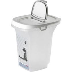 Moderna Cats in Love контейнер для корма 21x27x27h см, серый