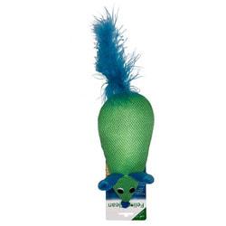 Feline Clean Игрушка для кошек Dental Мышка, хвост с перьями