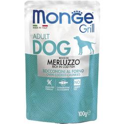 Monge Dog Grill Pouch паучи для собак треска