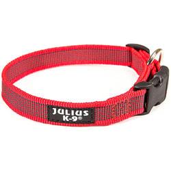 JULIUS-K9 Ошейник для собак Color & Gray, красно-серый