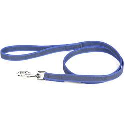 JULIUS-K9 Поводок для собак Color & Gray Super-grip, с ручкой, до 50 кг, сине-серый