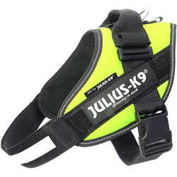 JULIUS-K9 Шлейка для собак IDC®-Powerharness, зеленый неон