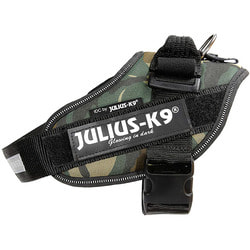 JULIUS-K9 Шлейка для собак IDC®-Powerharness, камуфляж