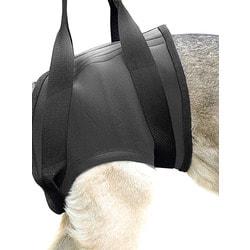 JULIUS-K9 Шлейка поддерживающая для собак БЕДРА неопрен, черный