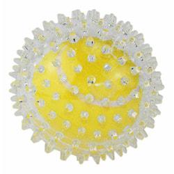 DOGMAN Прозрачный мячик с шипами для массажа десен