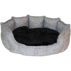 Lion Лежак для собаки Турин серый