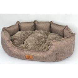 Lion Лежак для собаки Турин коричневый