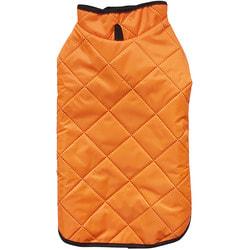 Антицарапки Стеганый жилет на флисе, оранжевый, размер L