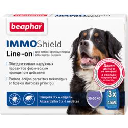 BEAPHAR Капли IMMO Shield Line-on от паразитов для собак крупных пород