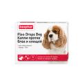 BEAPHAR Flea Drops Small Dogs - Капли от блох и клещей для собак до 19кг