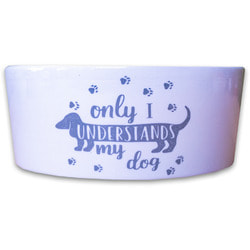КерамикАрт Миска для собак лапки