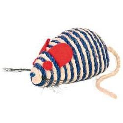 Trixie Игрушка для кошки Мышь веревочная из сизаля