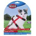 Trixie Шлейка для котят, нейлон с рисунком