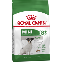 Сухой корм Royal Canin Mini Adult 8+ для мини собак с 8 лет до 12 лет