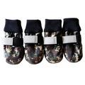 ForMyDogs Ботиночки-носочки текстильные водоотталкивающие, милитари