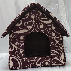 DOGMAN Домик для собак и кошек Будка большая 40х40х42см