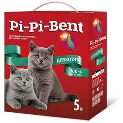 Pi-Pi-Bent Комкующийся наполнитель для котят