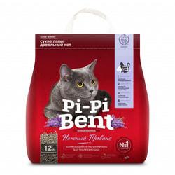 Наполнитель Pi-Pi Bent Нежный Прованс для кошек комкующийся