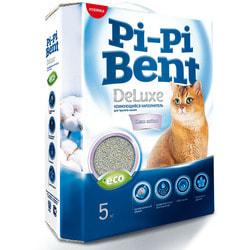 Наполнитель Pi-Pi Bent DeLuxe Clean Cotton для кошек комкующийся