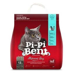 Наполнитель Pi-Pi Bent Морской бриз для кошек комкующийся