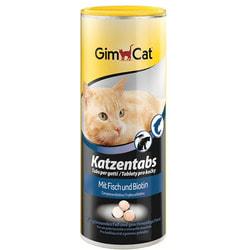 GimCat Витамины Табс с рыбой и биотином для кошек