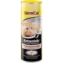 GimCat Витамины Табс с сыром маскарпоне и биотином для кошек
