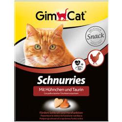 GimCat Витаминизированные Сердечки с таурином и курицей для кошек