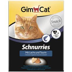 Gimpet Витаминизированные сердечки с таурином и лососем с ТГОС для кошек