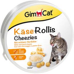 GimCat Витаминизированные сырные шарики для кошек