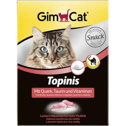 GimCat Витаминные мышки с таурином и творогом для кошек