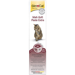 GimCat Паста для кошек для вывода шерсти из желудка Malt-Soft Paste Extra