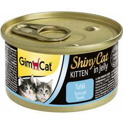 Консервы GimCat ShinyCat консервы для котят из тунца в желе