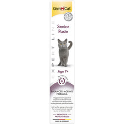 Gimpet Expert line Senior paste - витаминизированная паста для пожилых кошек