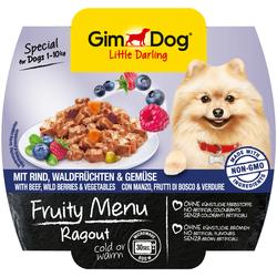 Gimpet Fruity Menu - Фрути Меню Рагу из говядины, лесных ягод и овощей