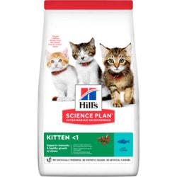 HILL'S Сухой корм для котят с тунцом. KITTEN TUNA
