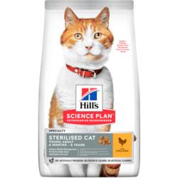Сухой корм HILL'S Adult Sterilised Cat для стерилизованных кошек до 7 лет