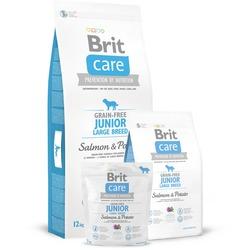 Brit Care Grain-free Junior Large Breed Salmon & Potato сухой корм для щенков крупных пород Лосось с картофелем