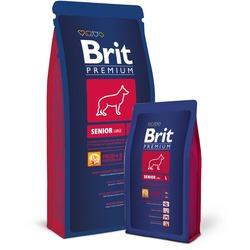 Brit Premium Senior L сухой корм для пожилых собак крупных пород (до 45кг)