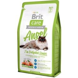 Brit Care Angel Delighted Senior сухой корм для пожилых кошек