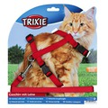Trixie Шлейка для крупных кошек с поводком