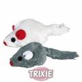 Trixie Игрушка для кошек набор мышек с мятой