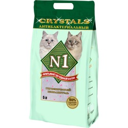№1 Наполнитель кошачий Crystals антибактериальный